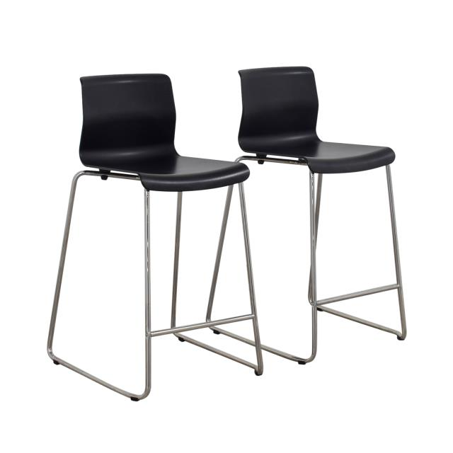 Where to find Black   Chrome Barstool w  Back in Atlanta
