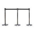 Rental store for Chrome Stackable   Retractable Stanchion in Atlanta GA