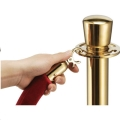 Rental store for Brass Hanging Stanchion in Atlanta GA
